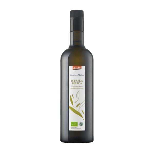 Ekstra deviško oljčno olje - Istrska Belica.