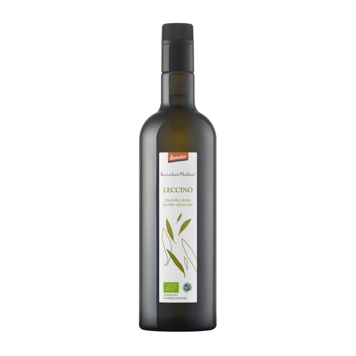 Ekstra deviško oljčno olje - Leccino.