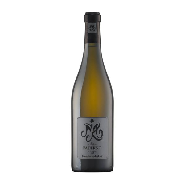 Vino Paderno, belo vino. Malvazija letnik 2013. Linija CRU.