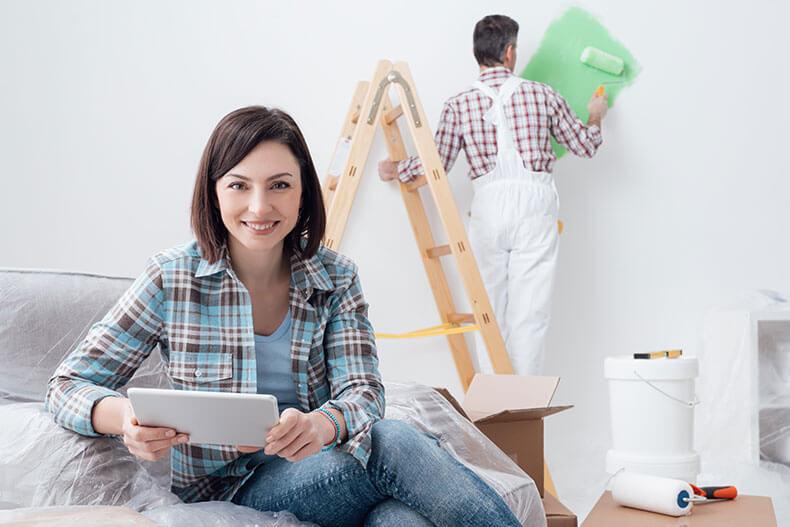 ML63, renoviranje in adaptacija nepremičnin, adaptacija apartmajev, štemanje.